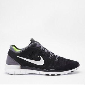 NIKE ~ Nike Free 5.0 black & white & gray sneaker